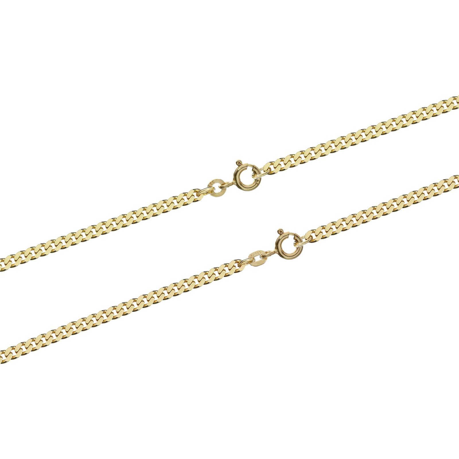 panzerkette massiv gelb gold kette halskette collier. Black Bedroom Furniture Sets. Home Design Ideas